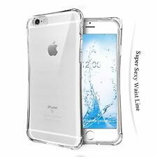 iPhone 6s 6 Case TPU Air Bumper Absorbing Scratch Resistant Case Crystal Clear