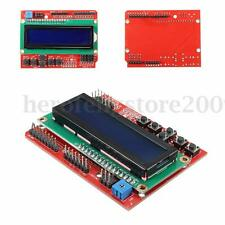 1602 LCD Keypad Shield V2.0 Expansion Board Blue Backlight For Arduino UNO 16x2