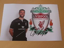 Signed Rickie Lambert Liverpool FC 12x8 Photo