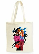 TRUE ROMANCE MOVIE POSTER FUNNY COOL SHOPPING CANVAS TOTE BAG IDEAL GIFT PRESENT