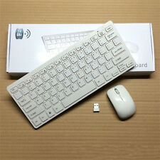 Mini 2.4G DPI Wireless Keyboard and Optical Mouse Combo for Tablet Desktop PC US