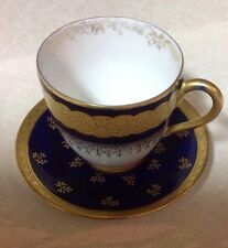Antique Limoges France Cup  & Saucer Porcelain W.G. & Co.
