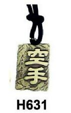 COLLANA Necklace KANJI KARATE Gadget SHOTOKAN per KOBUDO Collanina Katakana Kemp