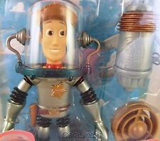 Toy Story SPACE SHERIFF WOODY fires turbo blaster ACTION FIGURE 1998 Mattel