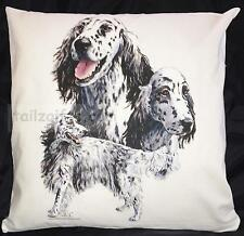 English Setter Group Breed of Dog Cotton Cushion Cover - Perfect Gift