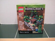 Lego MineCraft  #21102 Micro World Steve and Creeper Micromobs