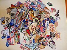 100x Random Assorted Vintage Patch Patches Business School Advertising Sports