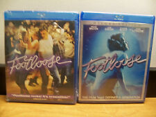 NEW 2 BLU RAY DOUBLE FEATURE SET  FOOTLOOSE 1984 2011 FREE FAST 1ST CLS S&H