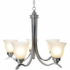Monument Lighting 617245 Sanibel 5 Light Chandelier in Brushed Nickel