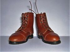 DID Dragon In Dreams 1/6th Scale WW2 British Officer's Brown Boots - Colman