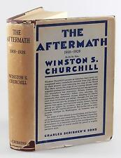 Winston S. Churchill - The Word Crisis: The Aftermath, jacketed 1st U.S. edition