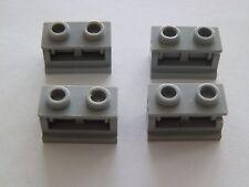 Lego 3937c01# 4x Scharnier 1x2  grau neu hellgrau