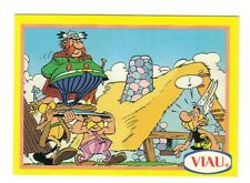 Asterix , la collection ,Abraracourcix (Vitalstatistix) , base card # 6, Viau