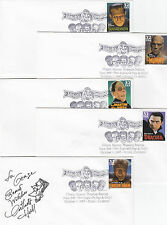 Stamps 1997 USA set of 5 horror with Witches Dungeon postmark 1 signed, articles