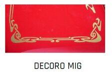 Decorazione dorata tipo MIG per affettatrici a volano mm 250/300/350/370 Fac