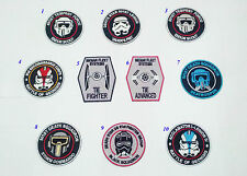 10 pcs star wars imperial army stormtrooper galaxy trooper ecusson broder patch