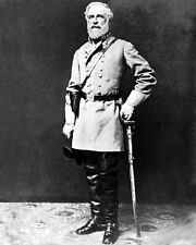 1863 Civil War Confederate General ROBERT E LEE Glossy 8x10 Photo Military Print