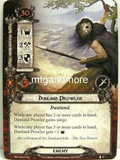 Lord of the Rings LCG  - 1x Dunland Prowler  #042 - The Voice of Isengard