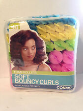 Conair Foam Soft Sponge Hair Rollers Curlers For Bouncy Curls # 61118Z - 48 Pack