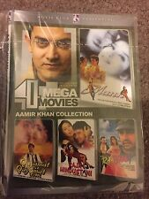 DVD  Aamir Khan Blockbuster Hindi Movie with Subtle  4 In 1 Movie