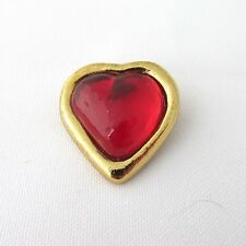 Broche coeur Yves Saint Laurent
