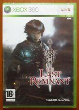The Last Remnant, Square Enix, Xbox 360, Pal-España, NUEVO PRECINTADO A ESTRENAR