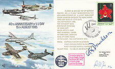 AC20a 40th Anniv VJ Day Signed Gp Capt G Donaldson DFC 15 Aug 85