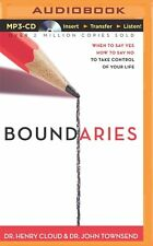 Boundaries: When to Say Yes by Dr. Henry Cloud (MP3 CD Audiobook,Unabridged)