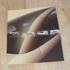 Renault Megane Coupe Cabriolet Folleto 2003 1.6 2.0 1.9 dCi Dynamique privilegio
