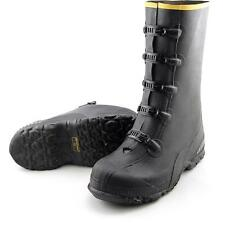 "Lacrosse 14""5 Buckle Men US 10 Black Rain Boot Pre Owned  1431"