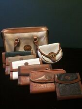 Gorgeous Vintage Dooney & Bourke Purses and Wallets Lot of 8 pieces