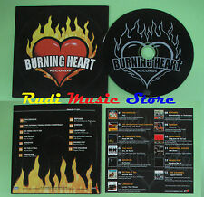 CD BURNING HEART RECORDS compilation PROMO MILLENCOLIN HIVES MONSTER (C25*)no mc
