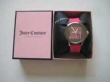 Juicy Couture Women's Jetsetter Hot Pink Silicone Strap Watch 38mm 1901097 $125