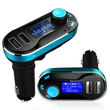 Universal 12V Dual USB Car Charger FM Transmitter AUX TF Audio Music MP3 Player
