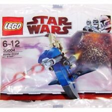 Lego Star Wars Battle Droid On STAP Kit #30004 Brand New Sealed Poly Bag Set