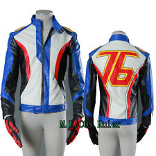 New Soldier 76 Cosplay Costume Game Costume Holloween Coat Jacket Cos Gloves