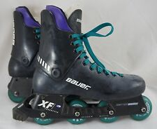 Bauer 10 XF3 Freestyle Mens Size 8.5 Inline Skates Super Light Chassis 70mm