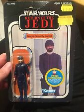 Bespin Security Guard (white) VINTAGE KENNER STAR WARS ROTJ 48A BACK MOC