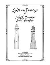 Lighthouse Drawings of North America - Book 2 - Great Lakes