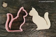 Gentle Cat Animal Cookie Cutter, 3D Printed