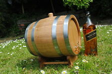 Wooden 5 L Liters Oak Barrel Wine Spirit, whiskey, bourbon Express 24h Next Day