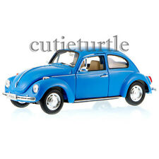Welly VW Volkswagen Beetle 1:24 Diecast Model Car 22436 Blue