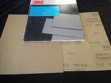3M-314-Wetordry Schleifpapier 230x280mm P500 (25 Stk.)
