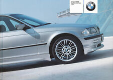 BMW Prospekt Leichtmetallräder 2001 brochure Auto PKWs Deutschland Europa