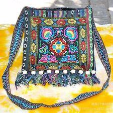 Ethnic Hippie Shoulder Bag Boho Messenger Case Embroidery
