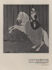 """Aubrey BEARDSLEY : CHOPIN Ballade III Op 47""  Lithographie originale THE STUDIO"