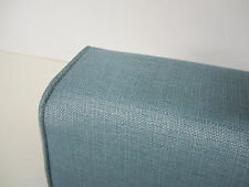 Daybed Wedge bolster cover only (Linen Turquoise) 5x9x12x36, Custom Made