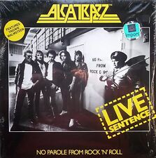 ALCATRAZZ / Malmsteen LIVE SENTENCE LP US Import Grand Slamm 12 Excellent