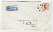 HONG KONG: 1946 AIRMAIL COVER TO SCOTLAND (C3642).
