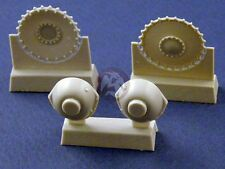 Panzer Art 1/35 Drive Wheels with Transmission for Panzer II Tank RE35-033